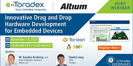 Innovative Drag and Drop Hardware Development for Embedded Devices Tickets