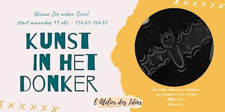 """stART studio Teken- en schildercursus v kinderen """"Kunst in het donker"""" tickets"""