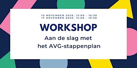 Workshop Aan de slag met het AVG-stappenplan tickets