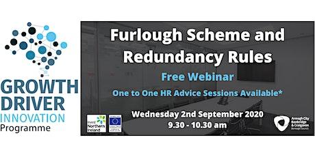 Updated: Furlough Scheme and Redundancy Rules tickets