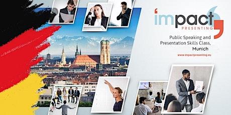 2-Day Munich IMPACT Presenting - Public Speaking Class