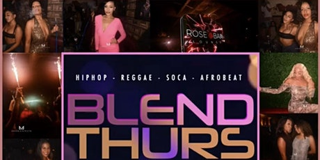 KB Presents BLEND THURSDAYS @ROSEBAR tickets