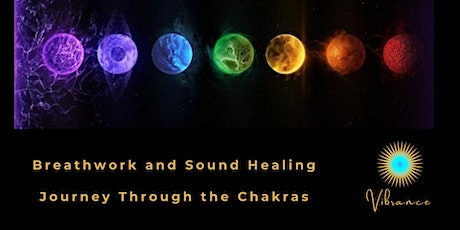 Relaxing Breathwork and Sound Healing Journey through the Chakras tickets