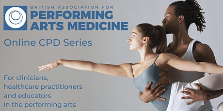 Practitioners' Online CPD: Remote Performing Arts Medicine Pros & Cons tickets