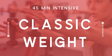 45-Minute Classic Weight Intensive tickets
