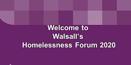 Walsall Homelessness Forum 2020 tickets