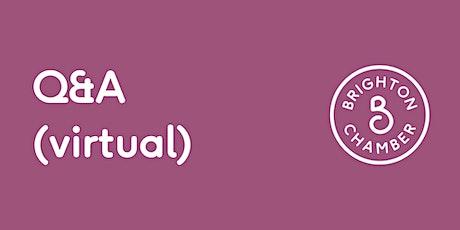 Q&A (virtual): The government's Kickstart Scheme tickets