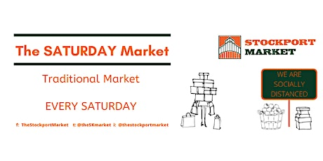The Saturday Market at Stockport Market tickets