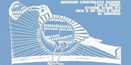 Concerto dei vincitori del Concorso clavicembalistico di Bologna 2019 biglietti