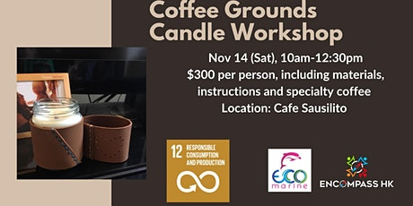 Coffee Grounds Candle Workshop tickets