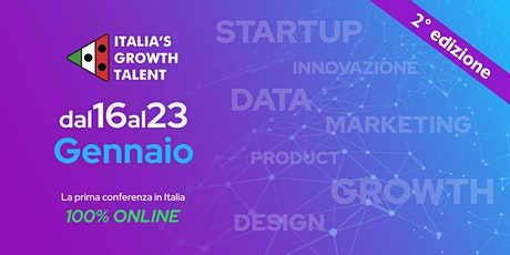 ITALIA'S GROWTH TALENT 2021 biglietti
