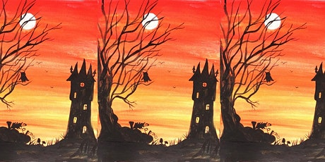 Easely Does It - Spooky Tower Watercolour Workshop - With Michelle tickets