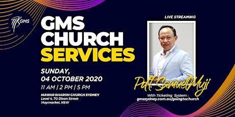 Sunday Live Service 3 @ 5pm -  4 October 2020 tickets