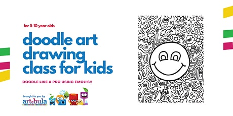 Doodle Art!  Become a doodle art master using EMOJI'S (5-10 year olds) tickets