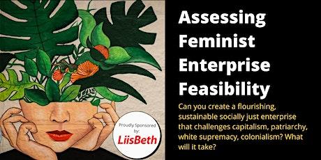 FEMINIST ENTERPRISE DESIGN: Assessing Feminist Enterprise Feasibility tickets