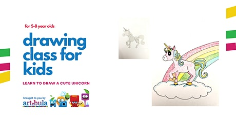 Learn to draw: A cute unicorn (5-8 year olds) tickets