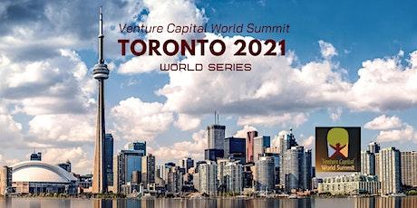 Toronto 2021 Q4 Venture Capital World Summit tickets