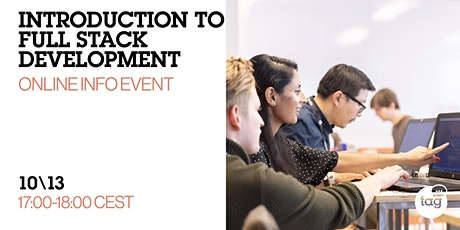 Introduction to Full Stack Development |Online Info Event tickets