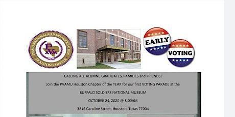 Voting Parade Drive tickets