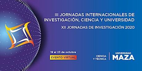 III Jornadas Internacionales y XII Jornadas Investigacion UMaza 2020 entradas