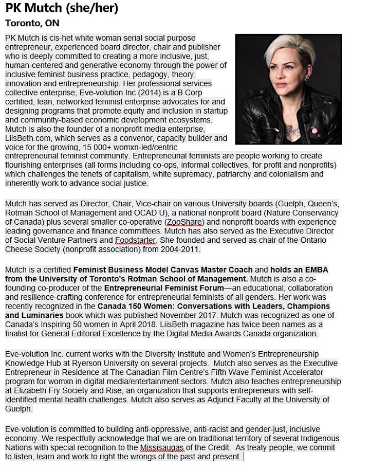 FEMINIST ENTERPRISE DESIGN: Radical Governance 101-Boards and Bylaws image