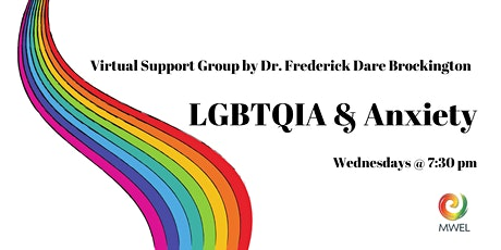 LGBTQIA Anxiety Support Group with Dr. Frederick Dare Brockington tickets