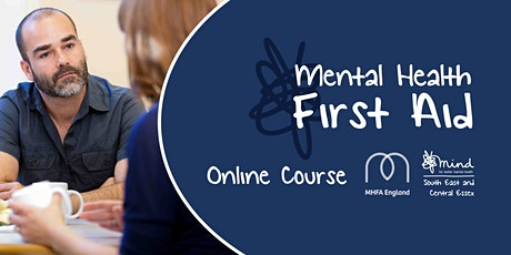 Online 2 day Mental Health First Aid Course (MHFA England Accredited) tickets