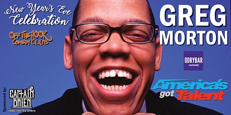 NYE 9pm Celebration with Comedian Greg Morton From AGT Semi Finals tickets
