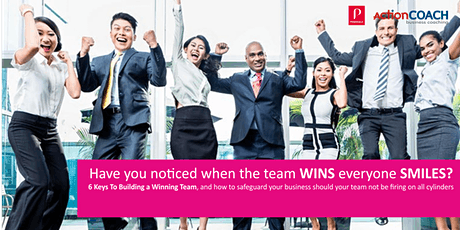 Building and KEEPING Your Winning Team & Protecting YOUR Business tickets