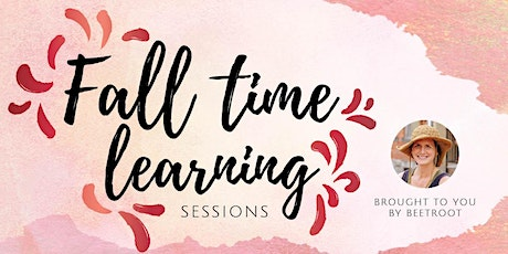 Fall Time Learning Sessions tickets