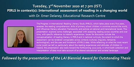 PIRLS in context: International assessment of reading in a changing world