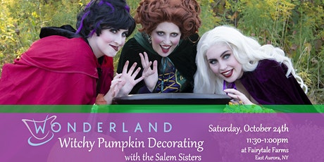 Witchy Pumpkin Decorating tickets