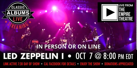 Classic Albums Live - Led Zeppelin 1 tickets