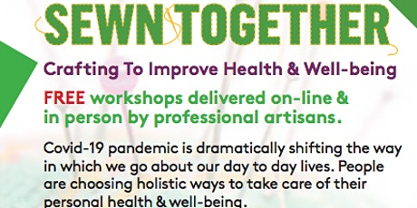 Using craft to improve health & wellbeing - workshops by Sewn Together tickets