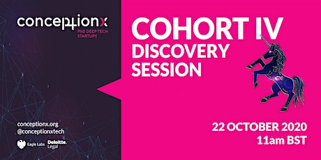 Conception X: Cohort IV Discovery Session tickets