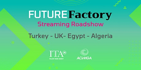 2020 Streaming RoadShows  Future Factory tickets