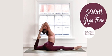 ZOOM Yoga Flow - Saturday 31st October tickets