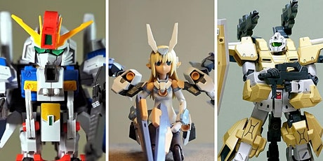 Creating Gundam Plastic Models: A Couples & #Quarantinemates Class tickets