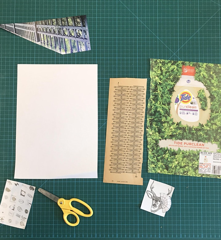Image Transfer and Collaging Adult Workshop image