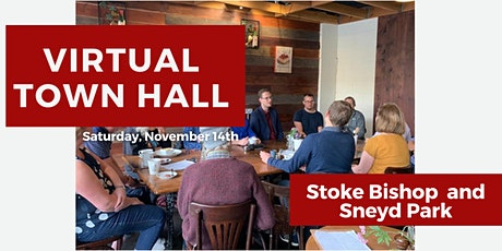 Virtual Town Hall: Stoke Bishop, Sneyd Park & Nearby tickets