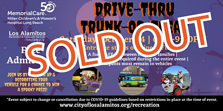 2020 Drive-Thru Trunk or Treat tickets