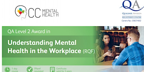 Mental Health First Aid Training Level 2 tickets