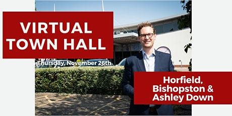 Virtual Town Hall:  Horfield,  Bishopston & Ashley Down tickets