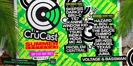 Sequences present Crucast Summer Shutdown! tickets