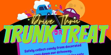 Drive-Thru Trunk or Treat entradas