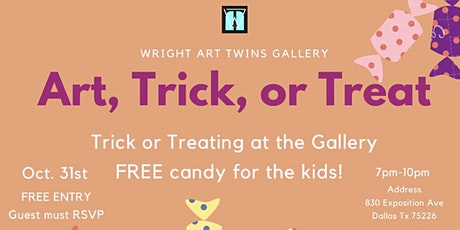 Art, Trick, or Treat tickets