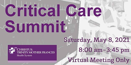 2021 Critical Care Summit tickets