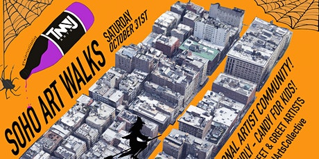 SOHO ART WALKS : HALLOWEEN EDITION! tickets