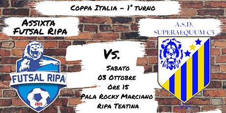Assixta Futsal Ripa -  Superaequum C5 2018 tickets