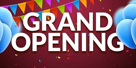 Grand Opening/Open HOUSE! tickets